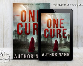 """Premade Digital eBook Book Cover Design """"One Cure"""" Science Fiction Sci Fi Fantasy YA Young New Adult Fiction"""