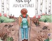 Baby Adventure Card