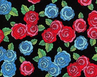 Frida's Roses - David Textiles - Half Yard
