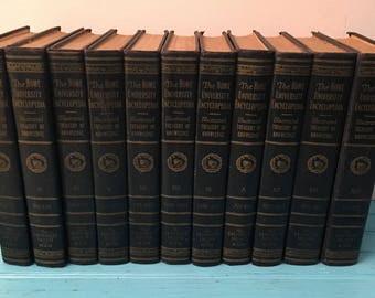 The Home University Encyclopedia PARTIAL SET  UNDER 20