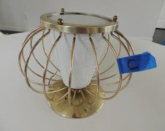 Mid Century retro Lightolier Ceiling light fixture C