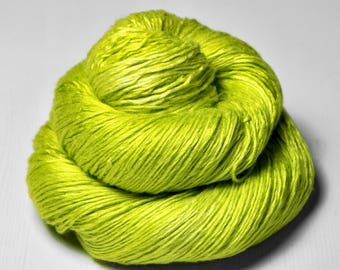 Blooming acorn - Fleece Silk Lace Yarn - LIMITED EDITION