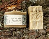 Basil IPA Beer Shampoo Bar - Solid Shampoo Bar - All Natural Shampoo - Palm Free and Vegan Shampoo - Zero Waste Shampoo Soap