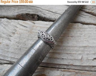 ON SALE Beautiful handmade ring in sterling silver 925