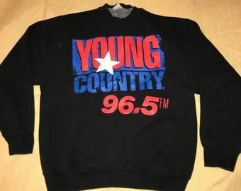 Country Crewneck Size M