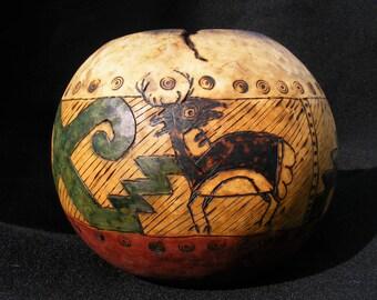Anasazi Pottery Gourd