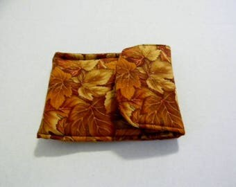 Maple Leaves Flip Phone Case