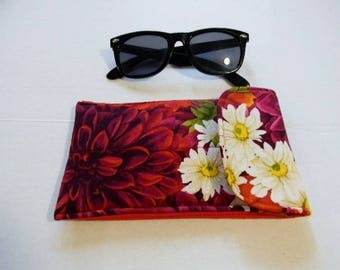 Red Floral Sunglasses/Smartphone Case