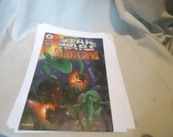 Vintage 1996 Star Wars Shadows Of The Empire Comic, collectable