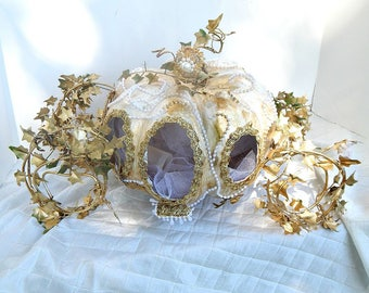 As Seen In Disney Centerpiece InspirationsOriginal Cinderella Fairy Tale Princess Wedding Carriage