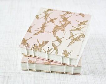 Blank Art Journal Pocket Sketchbook 4x4 Inch Watercolor Sketchbook Mini Journal Watercolor Journal Mixed Media Journal Handbound Journal