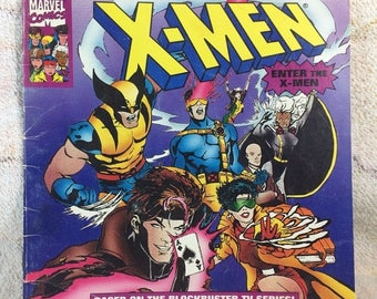 20% SALE 1993 X-Men Kids Picture Comic Book 90s Boys Books Comics Used