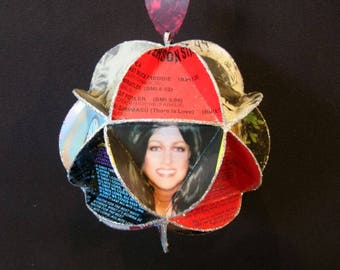 Jefferson Airplane Starship Album Cover Ornament Made Of Record Jackets - Grace Slick