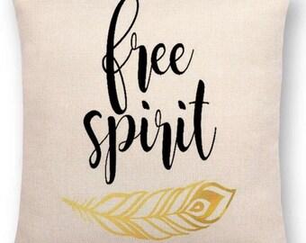 Free Spirit Pillow Case