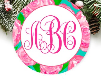 Personalized Christmas Ornament Personalized Keepsake Ornament Monogrammed Ornament GIFT BOX  Included