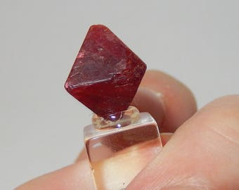 Red Spinel Crystal