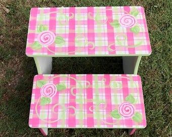 Adult Teen Step Stools Kitchen Stool Bathroom Stool Bedside Stool & Adult step stool | Etsy islam-shia.org