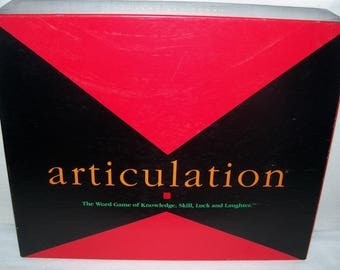 Articulation Best Fun Word Game for Adults and Teens