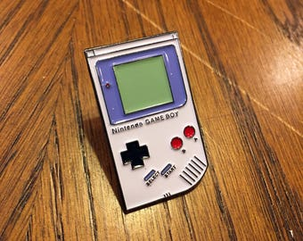 Enamel Pin Nintendo Game Boy Nintendo Enamel Pin 8 Bit Art