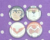 Red Lion Sparkle Button/Pin Set