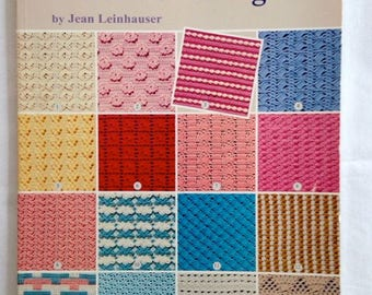 Afghan Patterns, Afghan Book, Crochet Pattern Book, Vintage Crochet Book – 101 Stitches for Afghans