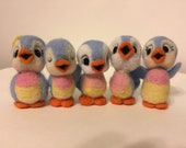 Bluebirds of Happiness by Melanie's Menagerie Felted Bluebirds Custom Order Request for Carrie