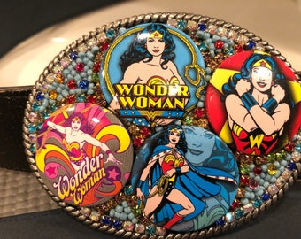 Wonder Woman Belt Buckle Rockin Waistwear