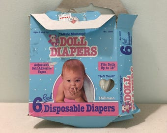 Vintage Little Mommy Doll Diapers