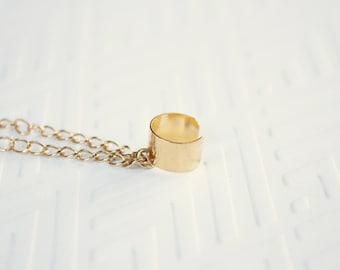 Gold Chain Ear Cuff, Ready to Ship