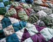 Storm's Center, table mat, quilted mat, candle mat, altar cloth, altar mat, tarot cloth, tarot mat, mini quilt, keyboard mat, doll quilt