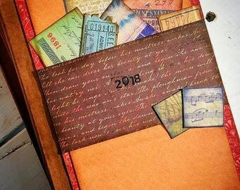 2018 Journal Keepsake Lined Pages