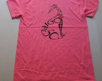 MEDIUM - Safety Pink Rescue T-shirt