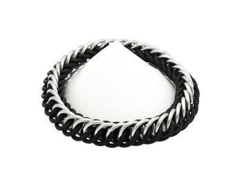 SALE Mens Stretch Chainmail Bracelet
