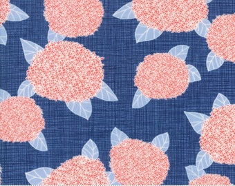 Bayberry by Kate and Birdie Paper Co - Hydrangea in Dusk (13160-15) - 1 Yard