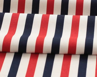 Stripe oxford cotton  by the yard (width 44 inches) 87045-2