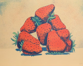 Strawberries by Aaron Fink