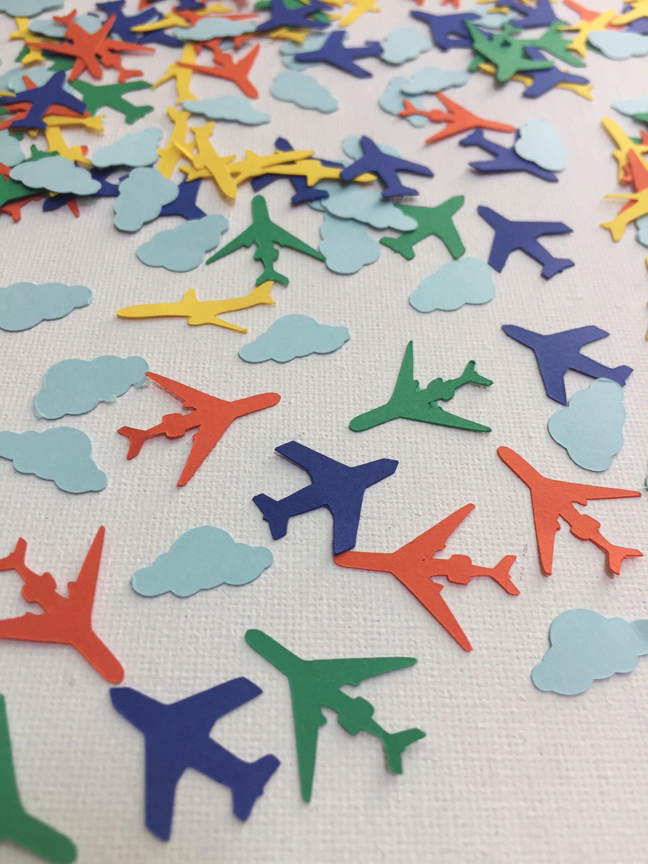 airplane birthday decorations airplane confetti boys birthday