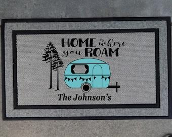 Personalized Door Mat Doormat Custom 18x24 Monogram Door
