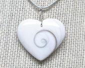 Shiva Shell Heart Pendant