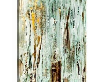 Birch Bark Abstract Original Art
