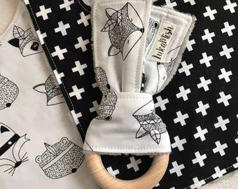Monochrome Critters Newborn Set - Perfect Baby Shower Gift!