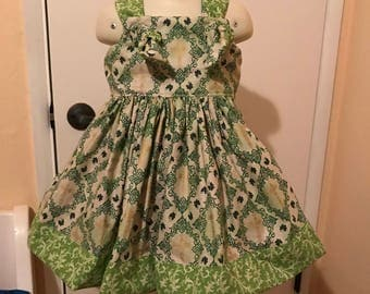 St Patrick's Day Girls Dress sizes 2t -6