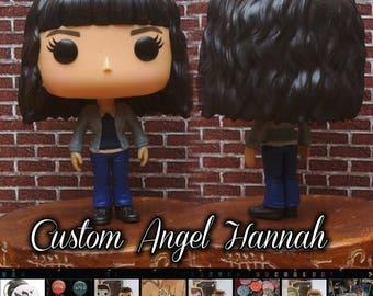 READY TO SHIP - Supernatural Angel Hannah - Custom Funko pop toy