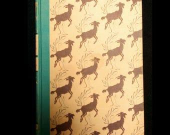 1945 Heidi Vintage Story Book by Johanna Spyri Illustrated by William Sharp