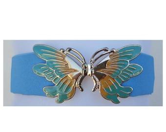 FLASH SALE 80s Belt / Butterfly Belt / Bohemian Belt