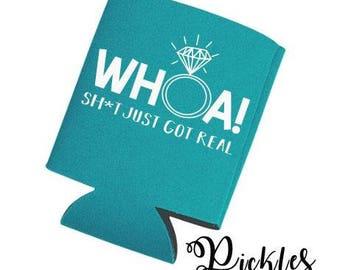 Whoa! Sh*t Just Got Real SVG, Digital Download, Getting Married, Whoa! Decal, Bachelorette DIY, Cricut Design