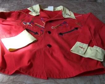 Vintage childs cowboy shirt.  C4-544-1.50