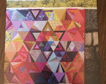 Tessellation, A Quilt Pattern by Nydia Kehnle and Alison Glass