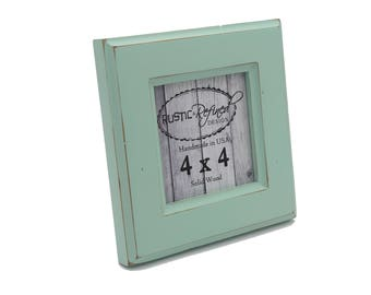 4x4 Moab Picture Frame Seafoam Green Instagram Home Decor Wedding Favors
