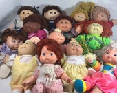 cabbage patch dolls / vintage baby doll/ 80s dolls/ 80s toys / xavier, cabbage patch clothes